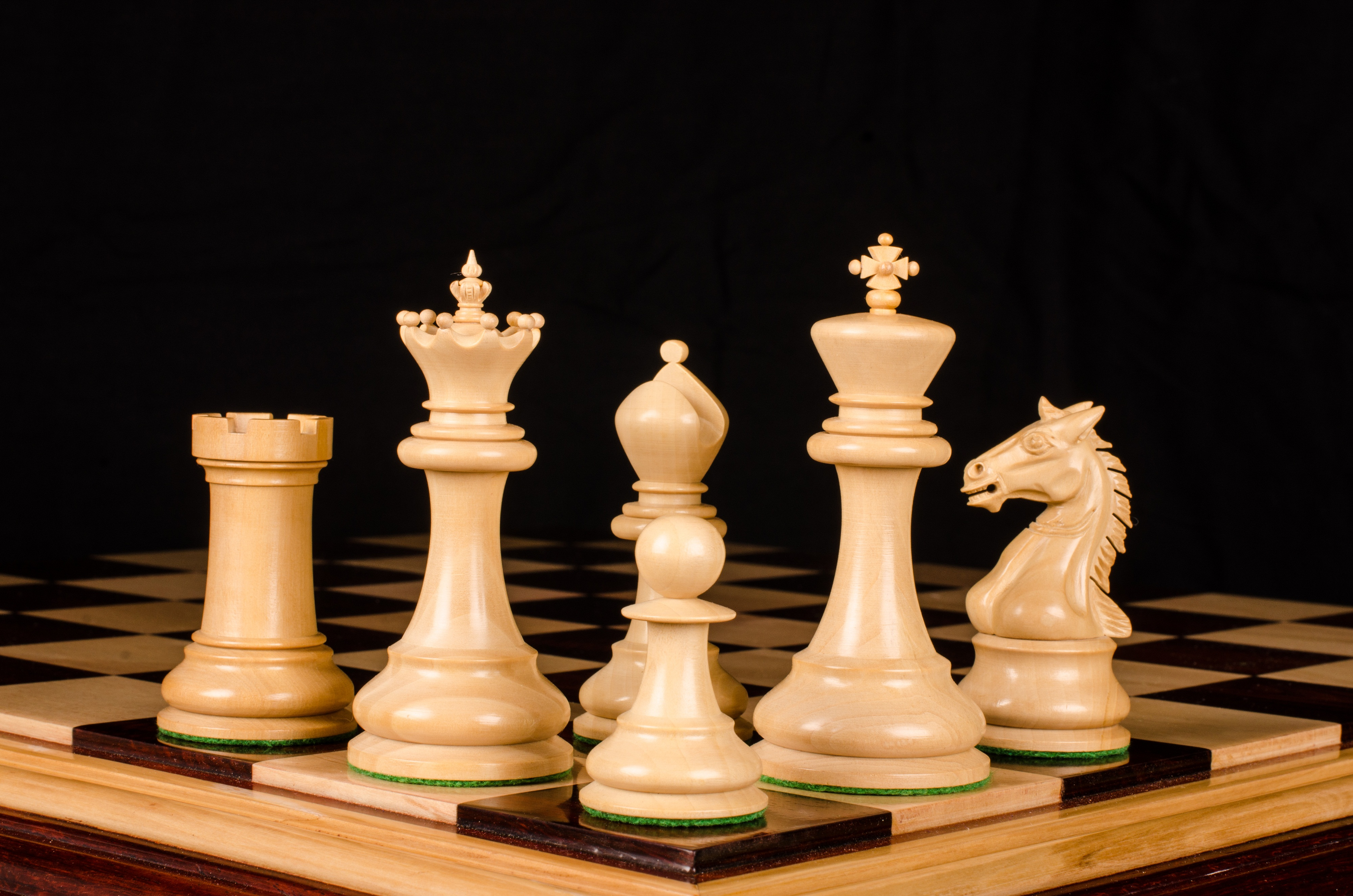 Luxury Wood Chess Boards